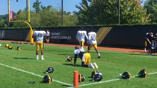 No Le'Veon Bell at Steelers practice