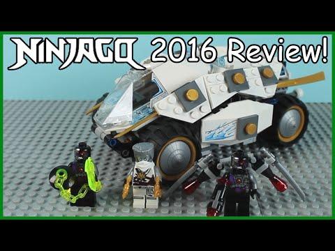 LEGO Ninjago: Titanium Ninja Tumbler Review - Set 70588 Summer 2016