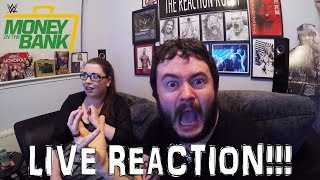 WWE MONEY IN THE BANK 2017 LIVE REACTION!!!