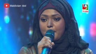 Maldivian Idol Gala Round | Beynunveema Loabin - Azleema