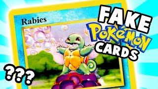 Hilarious Fake Pokemon Cards