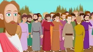 Jesus Feeds The Poor - Feeding the 5000 - Bible Stories For Kids - Miracles of Jesus Christ
