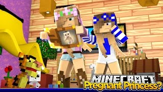 Minecraft Royal Family: WHICH PRINCESS IS PREGNANT?! w/Little Kelly & Little Carly