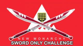 So F*ckn CLOSE!! New Monarchy Sword (Honor's Edge) Sword Challenge
