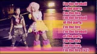 Willow Smith - Fireball (ft. Nicki Minaj) / with Lyrics on screen