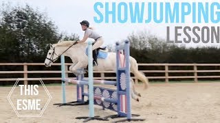 Showjumping 1metre course! | This Esme