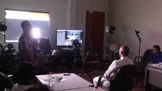 التصوير السينمائي | لقطات موجزة من دورة فن التصوير السينمائي و إنتاج الأفلام بجدة