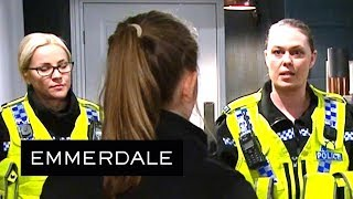 Emmerdale - Liv Is Arrested After Someone Ratted Her Out