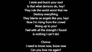 Love me again - John Newman w/lyrics