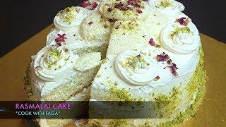 RASMALAI CAKE *COOK WITH FAIZA*