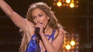 Jennifer Lopez - First Love (Live American Idol)