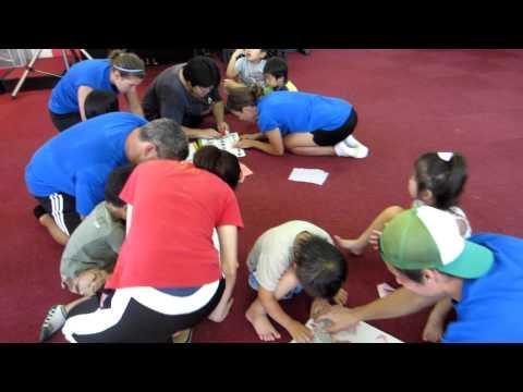 Christ Community Church, Making Origami, 7-8-11