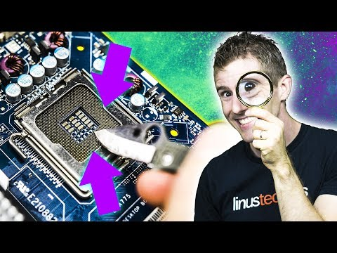Resurrecting a Broken Motherboard – Bent Socket Pins