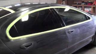How to paint your own car in the garage Full Color Change part 4