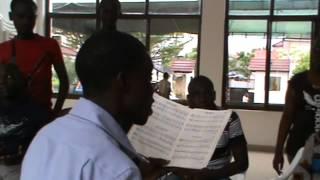 Ushindi SDA Choir   Practise 2