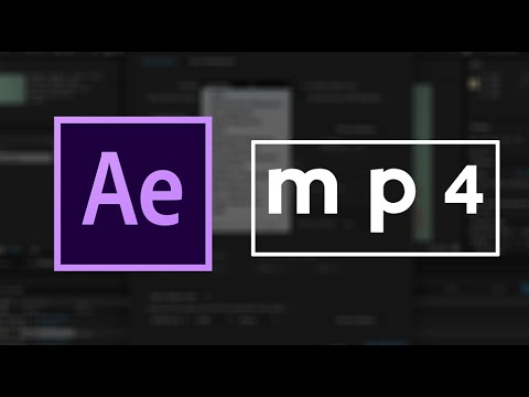 Xxx Mp4 How To Save After Effects As Mp4 Video Easy Tutorial 3gp Sex