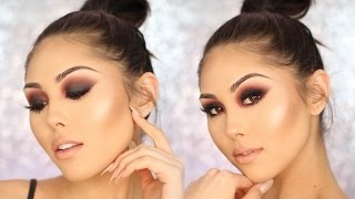 Dramatic Smokey Eye Makeup Tutorial for Beginners | Roxette Arisa