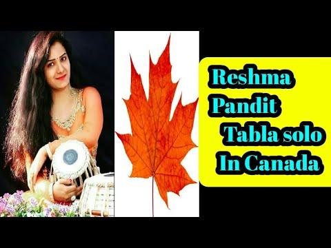 Reshma Pandit Tabla Solo In (Canada ) 2018
