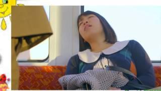 Sleeping on subway in Japan