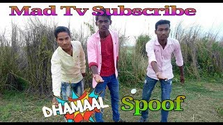 Dhamaal movie Spoof |  Car Jump Scene | Dhamal movie comedy scene | Mad Tv