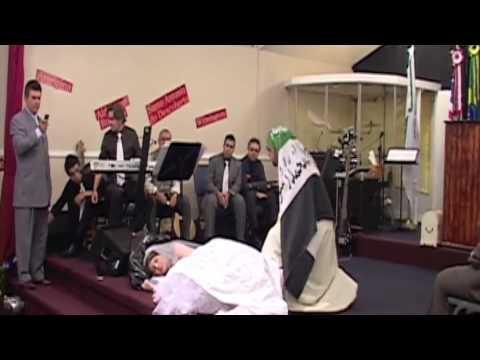 Teatro evangélico acorda Igreja parte I