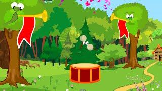 Bate Toba (Smiley) - Clopotelul Magic - cantece pentru copii