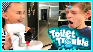 THE POTTY CHALLENGE | TOILET TROUBLE GAME