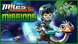 Miles Rover Rescue. Miles From Tomorrowland Full Episode Game for Kids Walkthrough