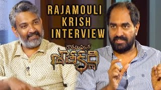 SS Rajmouli Special interview with Krish about  Gautami Putra Satakarni || Balakrishna, Shriya Saran