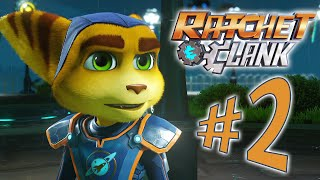 Ratchet and Clank - Parte 2: Herói e Campeão! [ Playstation 4 - Playthrough PT-BR ]