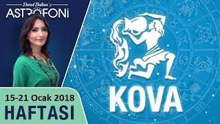 Kova Burcu, haftalık burç ve astroloji yorumu, 15-21 Ocak 2018. Astrolog Demet Baltacı