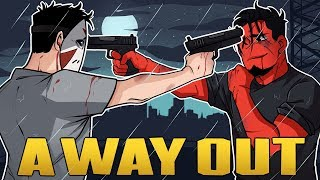 THE HEARTBREAKING CONCLUSION!   A Way Out (Coop w/ H2O Delirious) Episode 7