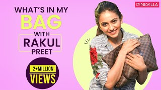 What's in my bag with Rakul Preet | S03E09 | Fashion | Bollywood | Pinkvilla