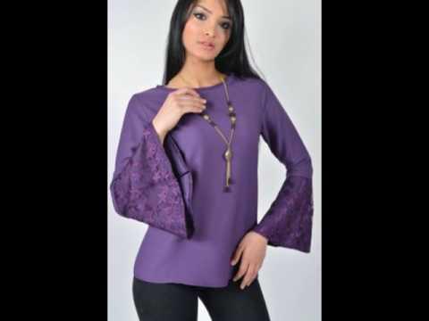Kadın Giyim Bluz Modelleri