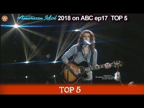 "Cade Foehner sings ""Simple Man""  For His MOTHER  American Idol 2018 Top 5"