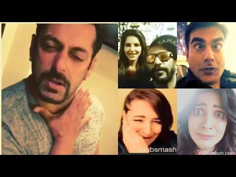 Bollywood Dubsmash Compilation 2015   Salman Khan, Sunny Leone   Part 2