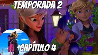 Miraculous Ladybug Temporada 2.- Capítulo 4 ¡La Béfana! //Marichat y Adrinette//
