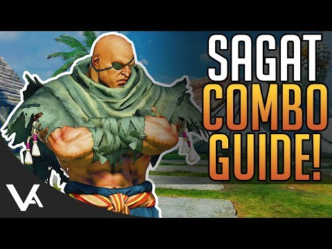 Xxx Mp4 SFV Sagat Combos Combo Guide For The Next New DLC Character In Street Fighter 5 Arcade Edition 3gp Sex
