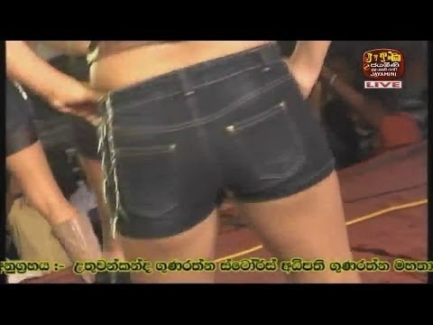 Sexy Dance by Sri Lankan Girls in a musical show