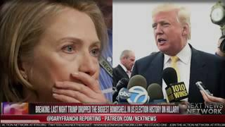 Breaking News: Last Night Trump Dropped The Biggest  Boom Shell In US Election History On Hillary
