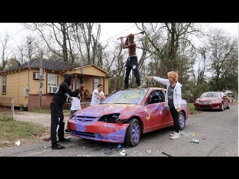 Xxx Mp4 Destroying My Sister Car And Surprising Her With A New One 3gp Sex