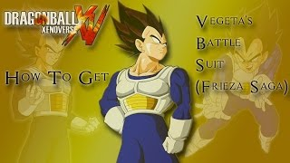 Dragon Ball Xenoverse - How to Get Vegeta's Battle Suit