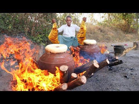 Traditional Pot Mutton Biryani Traditional cooking Lamb Biryani Matka Biryani By Grandpa Kitchen