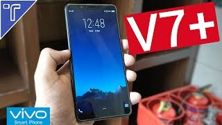 Vivo V7 Plus (V7+) Hands On review [Specs, Price in India, Camera & Features]