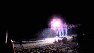 4th of July Fireworks Emerald Isle Beach North Carolina - Grand Finale -  July 4, 2013 Part III