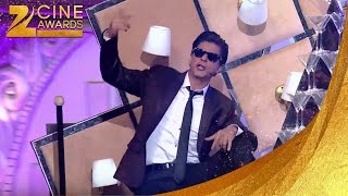 Shah Rukh Khan Dance On Battamiz Dil mane na Song at Zee Awards 2014