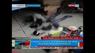 BP: Sundalo patay sa pamamaril ng mga salaring nakamotorsiklo