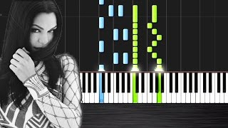 Jessie J - Flashlight (Pitch Perfect 2) - Piano Cover/Tutorial by PlutaX - Synthesia
