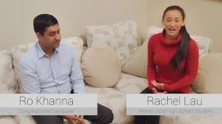 Rachel's Interview of Ro Khanna