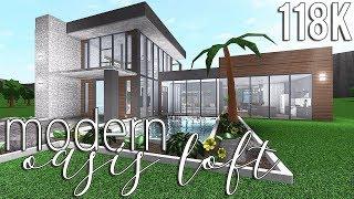 ROBLOX | Bloxburg: Modern Oasis Loft 118k